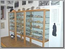 Mineralien-Sammlung in der Bergbau-Abteilung